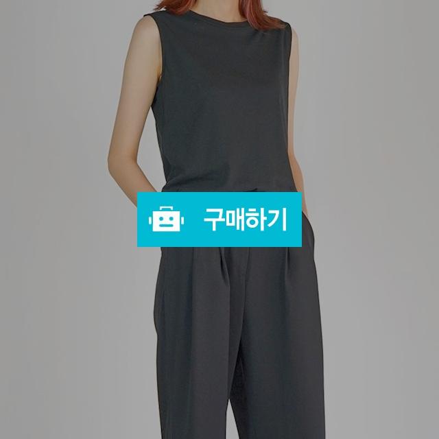 세컨드 데이 민소매 티셔츠 (5 color) / 온데어오운 스토어 / 디비디비 / 구매하기 / 특가할인