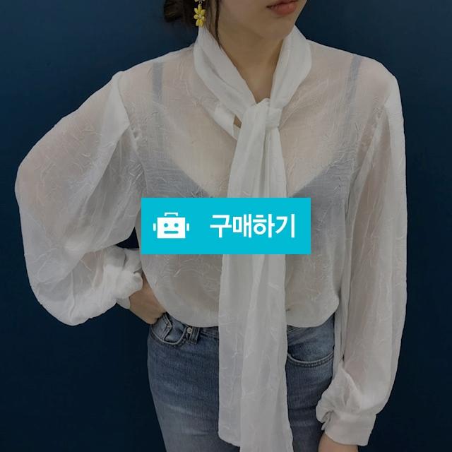 시스루 타이 블라우스 / 김체리님의 스토어 / 디비디비 / 구매하기 / 특가할인