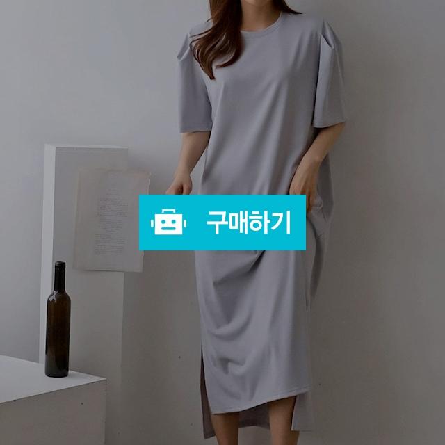 여성 편안한 데일리 언발 루즈핏 잠옷 원피스 / 옷자락 / 디비디비 / 구매하기 / 특가할인