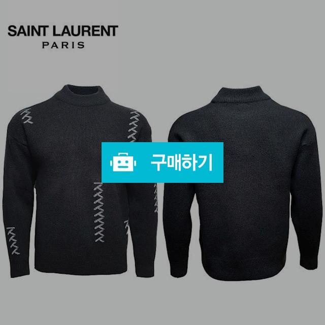 SAINT LAURENT  자수 반목 니트 / 럭소님의 스토어 / 디비디비 / 구매하기 / 특가할인