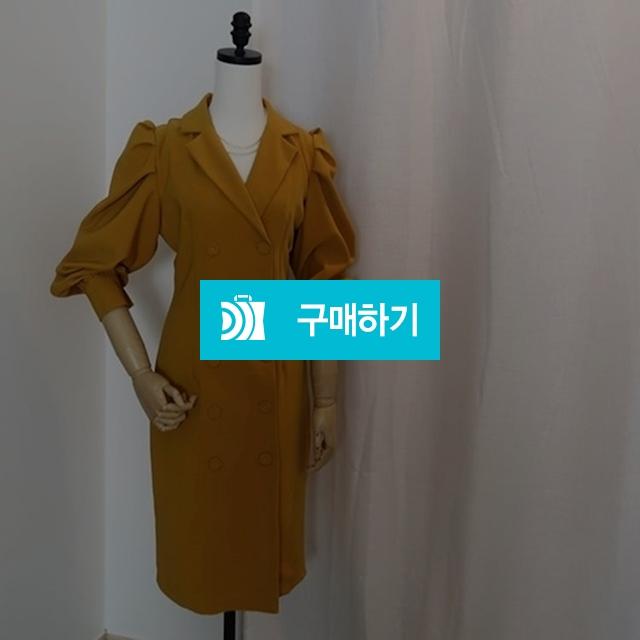 어깨 퍼프 셔링 봄 자켓원피스 / SHINs SENSE / 디비디비 / 구매하기 / 특가할인
