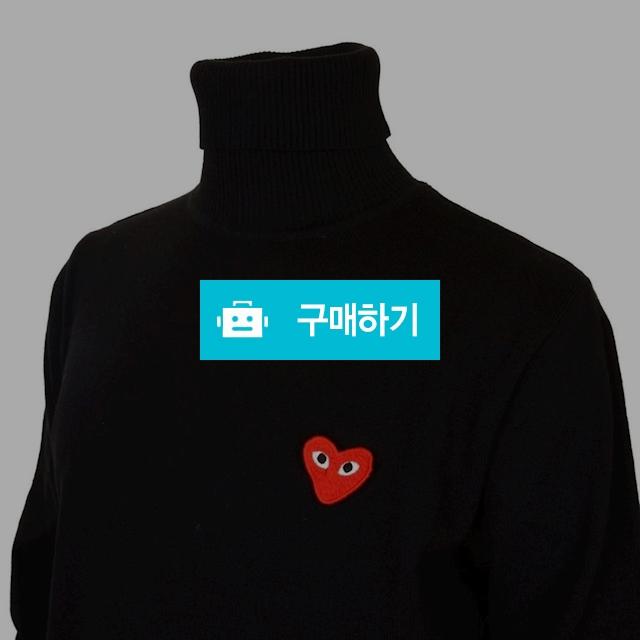 꼼데가르숑 베이직 터틀넥 블랙 / 럭소님의 스토어 / 디비디비 / 구매하기 / 특가할인