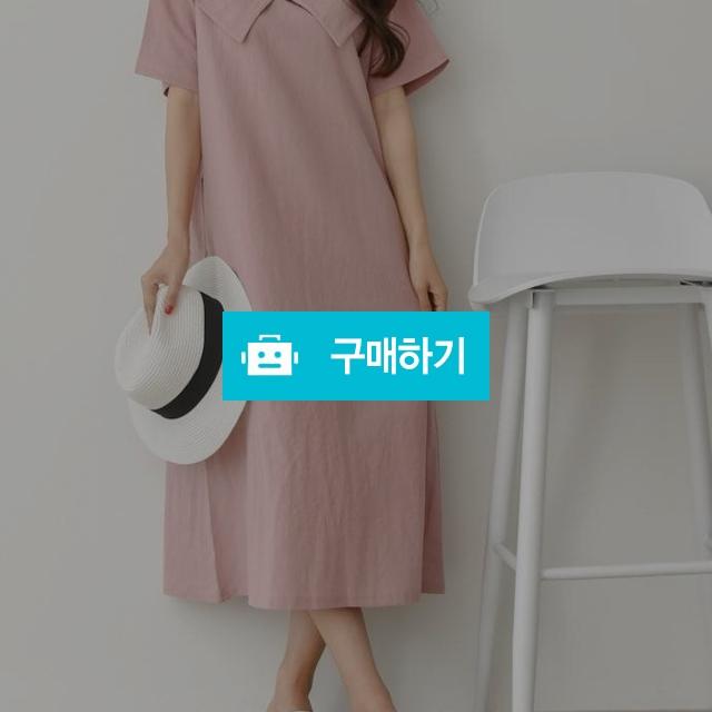 린넨 빅카라 루즈핏 원피스 / 데일리룩 멜로디민 / 디비디비 / 구매하기 / 특가할인