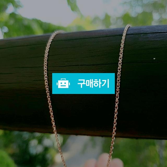 14k 고방컷체인 목걸이 45fs / 엘앤제이쥬얼리님의 스토어 / 디비디비 / 구매하기 / 특가할인