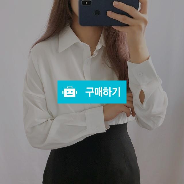 루즈핏 무지 쉬폰 블라우스셔츠 2color / 무드앤무드 / 디비디비 / 구매하기 / 특가할인