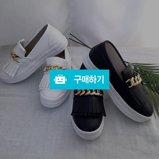 금장 체인 통굽 슬립온 / 데일리룩 멜로디민 / 디비디비 / 구매하기 / 특가할인