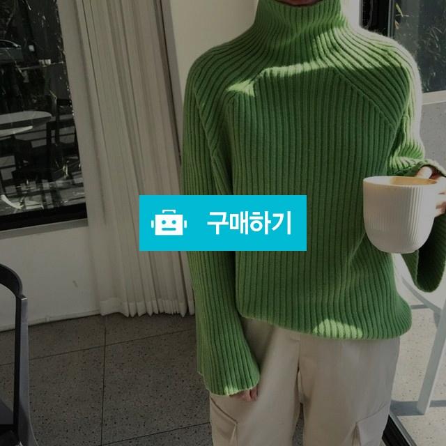 루즈핏 와이드 니트 폴라 / 남가영님의 스토어 / 디비디비 / 구매하기 / 특가할인