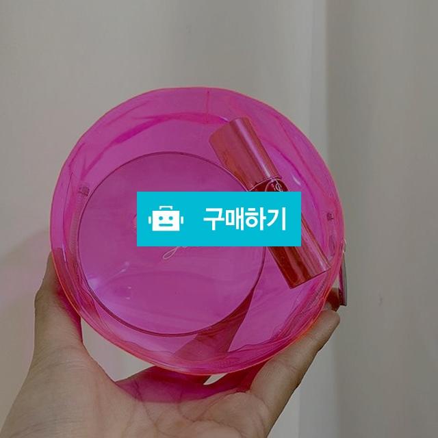 샤넬 형광핑크 투명파우치 (상자포함) / 노벨티샵 / 디비디비 / 구매하기 / 특가할인