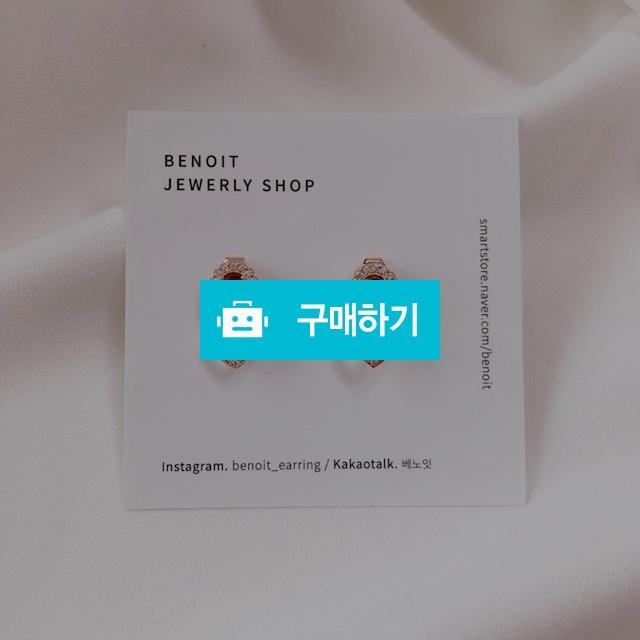 베노잇 실버92.5 송혜교 귀걸이 포인트 레드 악세사리 보석 / 베노잇 / 디비디비 / 구매하기 / 특가할인