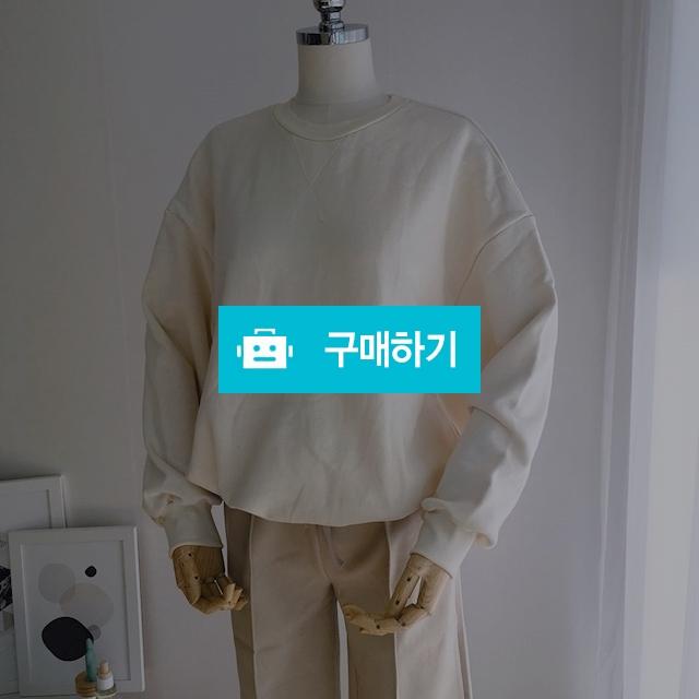 베이직 무지 루즈핏 퍼프 맨투맨 / 8381pj님의 스토어 / 디비디비 / 구매하기 / 특가할인