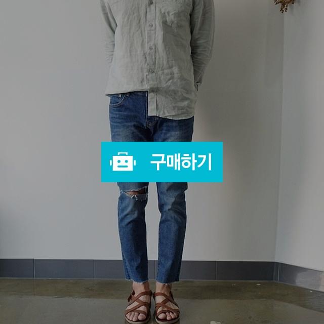 센남 남자 커팅 진청 슬림핏 무파진 / 센남님의 스토어 / 디비디비 / 구매하기 / 특가할인