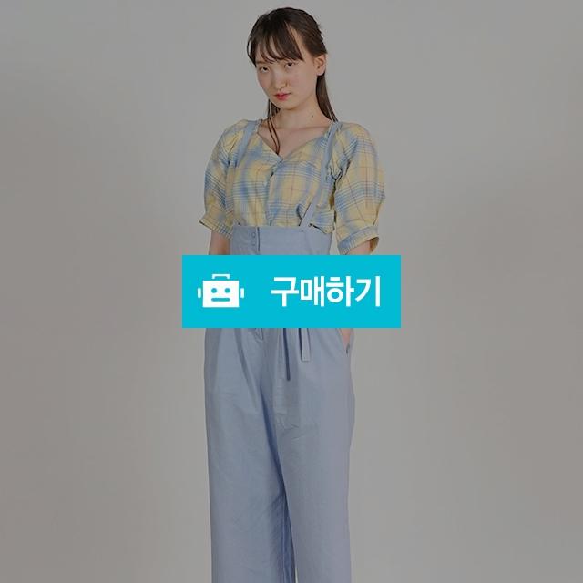 프라임 하이 웨이스트 멜빵 팬츠 (pink, blue) / 온데어오운 스토어 / 디비디비 / 구매하기 / 특가할인
