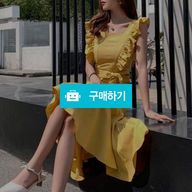 러플 주름 프릴 나시 원피스 / 장위동홍당무님의 스토어 / 디비디비 / 구매하기 / 특가할인