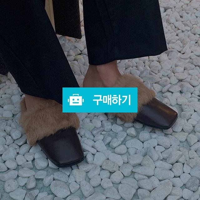 리얼토끼털 스퀘어 뮬 / 무드스윙 / 디비디비 / 구매하기 / 특가할인