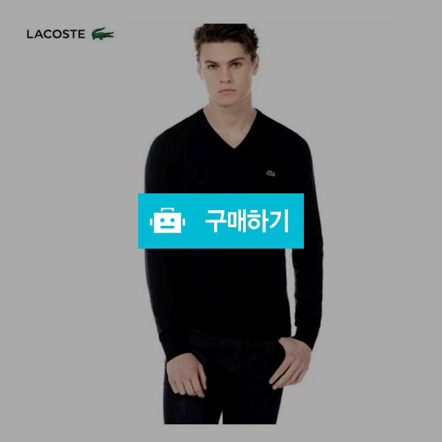 라코스테 V넥니트  / 럭소님의 스토어 / 디비디비 / 구매하기 / 특가할인