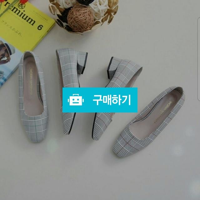 ♡특가 체크 펌프스 969 / 찌니슈님의 스토어 / 디비디비 / 구매하기 / 특가할인