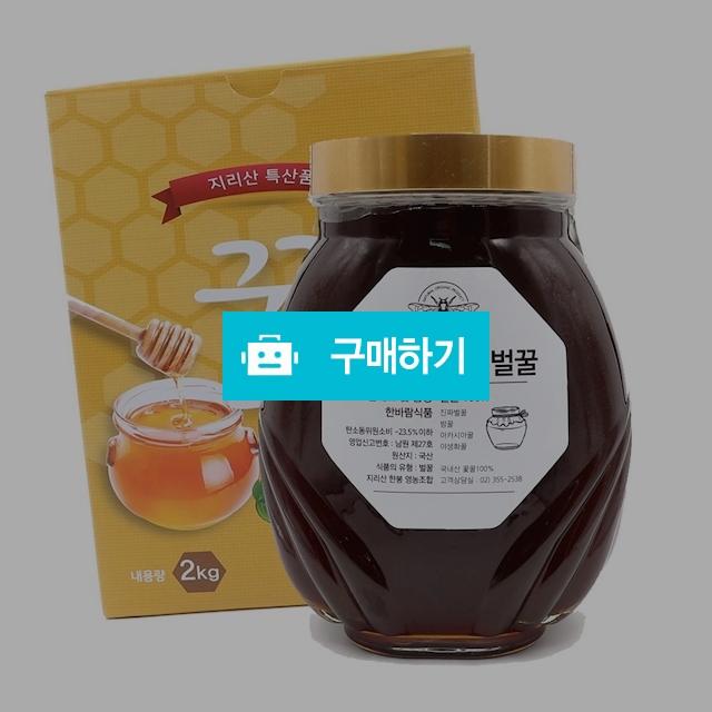 품질보증 벌꿀 천연벌꿀 야생화꿀 2kg 유리병 / 한바람 / 디비디비 / 구매하기 / 특가할인