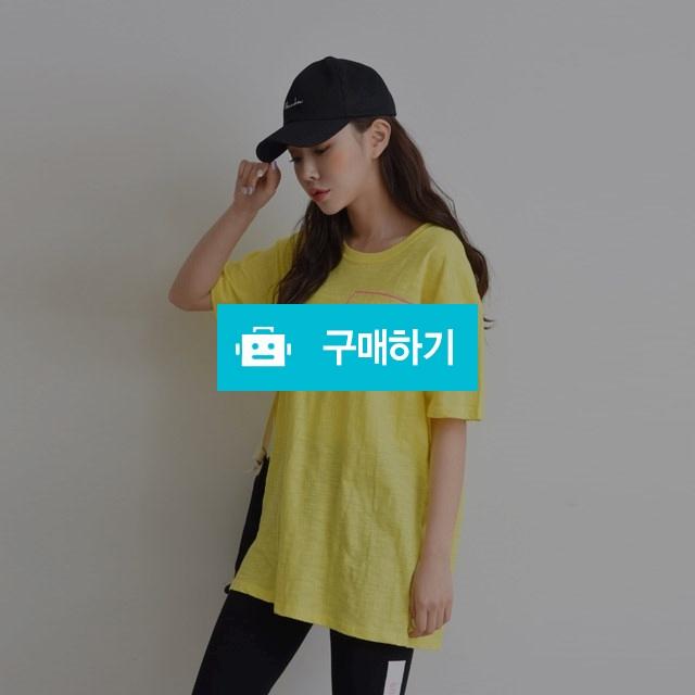라운드넥 프린팅 슬라브 루즈핏 티셔츠 / 겟잇미 / 디비디비 / 구매하기 / 특가할인