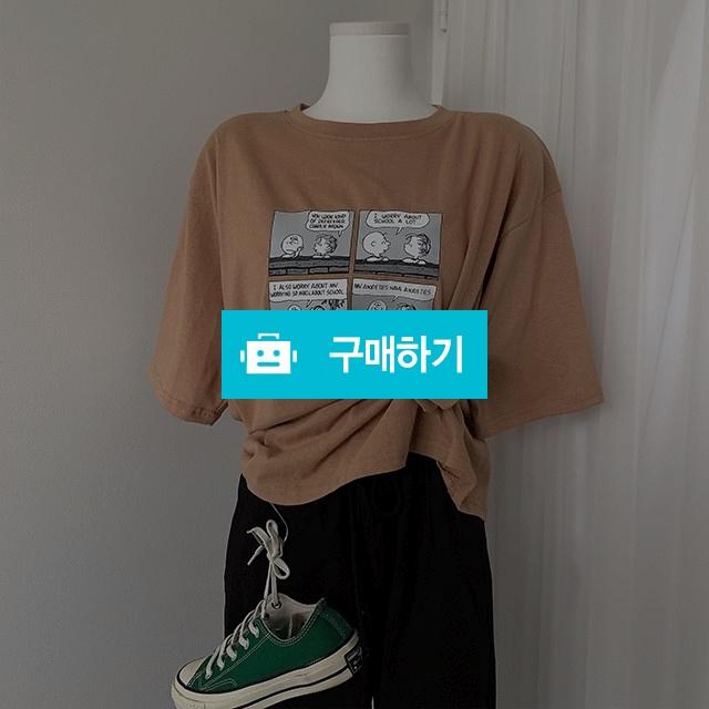 캐릭터 스누피 반팔 티셔츠 / 마인드식스 / 디비디비 / 구매하기 / 특가할인