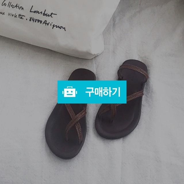 라탄 스트랩 크로스 쪼리 슬리퍼 / 멜로디로즈 / 디비디비 / 구매하기 / 특가할인