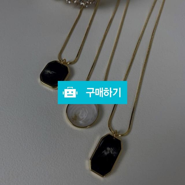 호마이카 팬던트 드롭 목걸이 / 설세라 / 디비디비 / 구매하기 / 특가할인