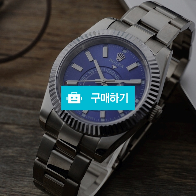 오메가 블루 큐빅 메탈 여성용   B2 / 럭소님의 스토어 / 디비디비 / 구매하기 / 특가할인