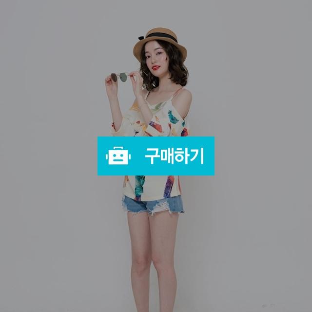 [블리다] Color brush draped offshoulder blouse / 포틴데이즈 / 디비디비 / 구매하기 / 특가할인