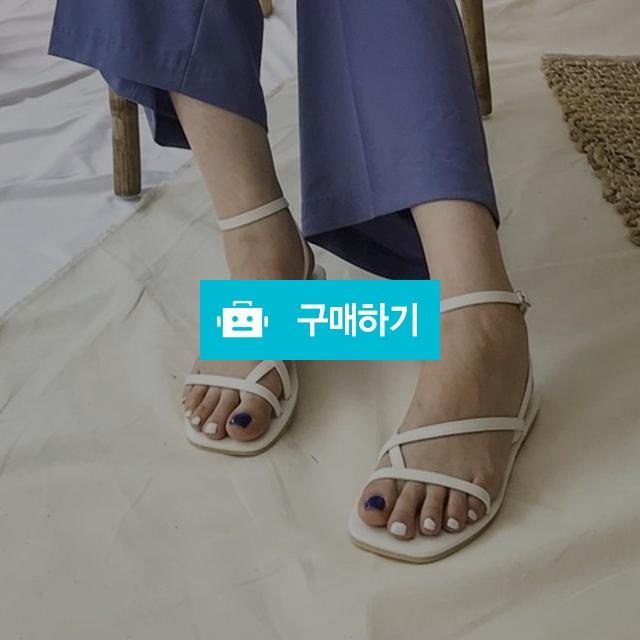 발목 스트랩 쪼리 버클 슬링백 샌들 / 네오마켓 / 디비디비 / 구매하기 / 특가할인