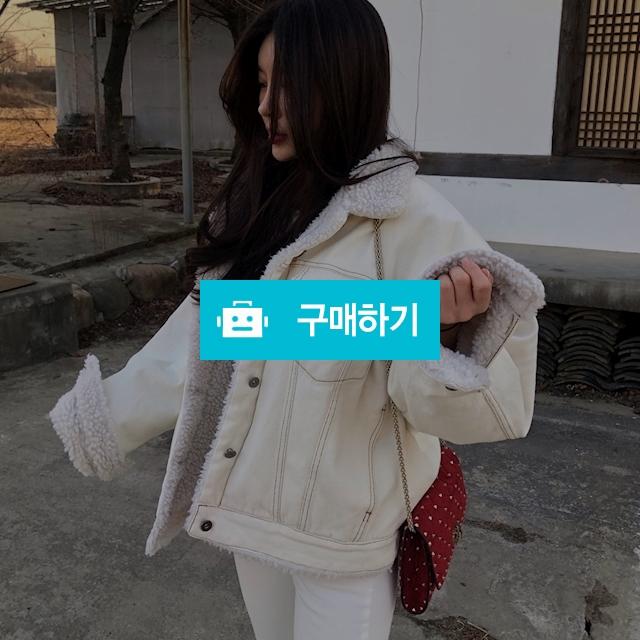 양털 데님자켓 오버핏 덤블 청 무스탕 / 니니비브 / 디비디비 / 구매하기 / 특가할인