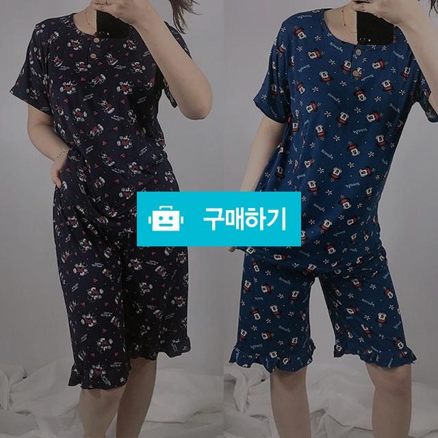 미키미니 여자 여름 피치 순면 잠옷세트 / 프리판다님의 스토어 / 디비디비 / 구매하기 / 특가할인