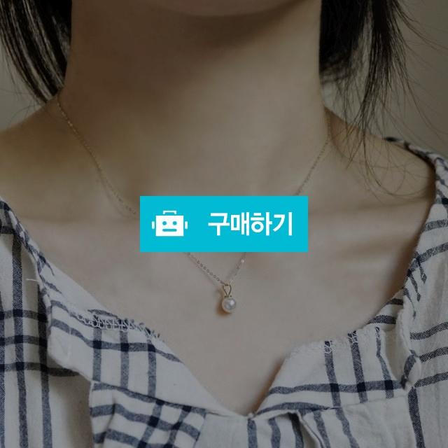 14k 하트 진주 펜던트 목걸이 / 손수메이크 / 디비디비 / 구매하기 / 특가할인
