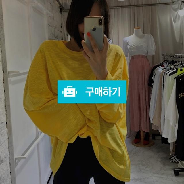 라운드넥 루즈핏 가오리 티셔츠 / 니키가님의 스토어 / 디비디비 / 구매하기 / 특가할인