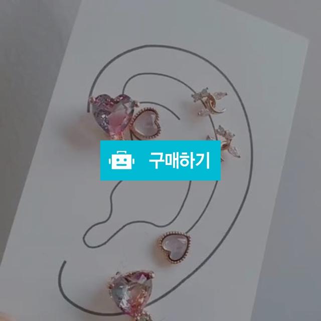[무배]코코하트 귀걸이 3개 세트  / 아몬드쥬 / 디비디비 / 구매하기 / 특가할인