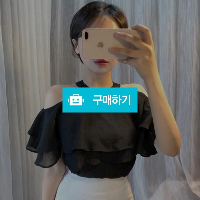 홀터넥 레이어드 프릴 블라우스 / 곽지영님의 스토어 / 디비디비 / 구매하기 / 특가할인