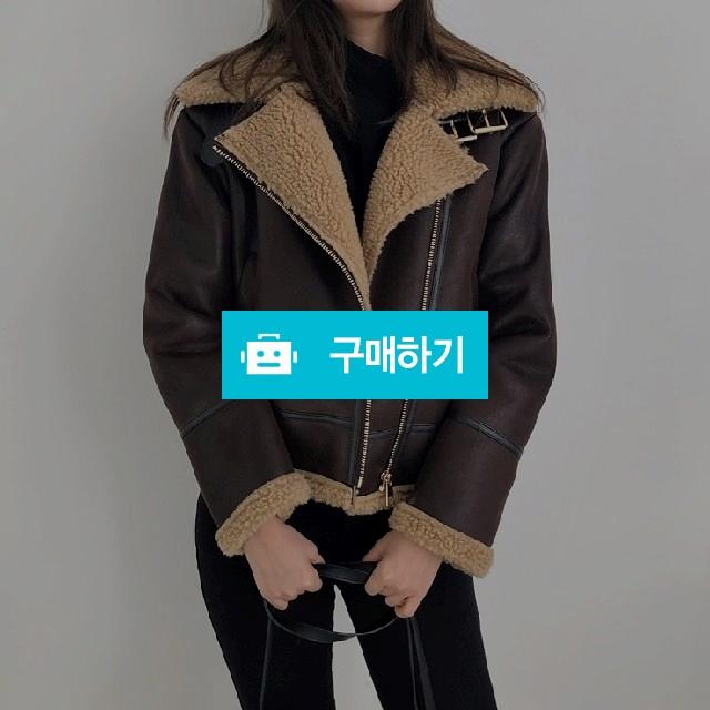 양털 레더 숏 무스탕 - 2 color / 라라런드리 / 디비디비 / 구매하기 / 특가할인