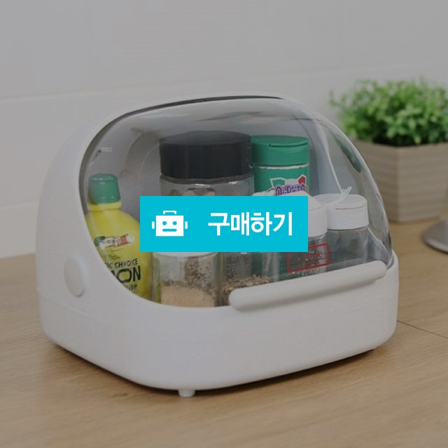 일본생산 주방 식탁 식료품 정리 먼지차단 커버보관함 / 이지스토어 / 디비디비 / 구매하기 / 특가할인