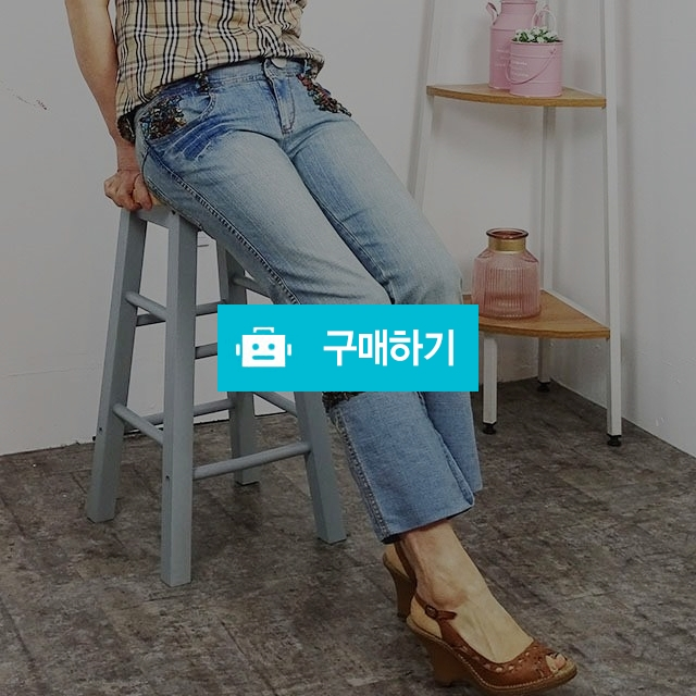 큐빅 일자핏 롤업 9부 청바지 / 쁘레시오님의 스토어 / 디비디비 / 구매하기 / 특가할인