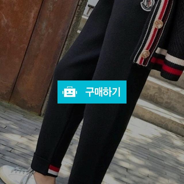 [MONCLER] 몽클레어 삼선 니트팬츠  / 럭소님의 스토어 / 디비디비 / 구매하기 / 특가할인