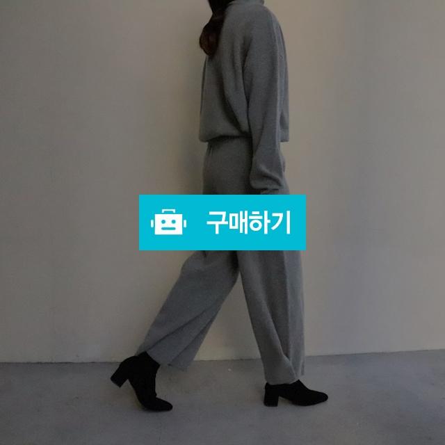 와이드 폴라 니트 투피세트 / 옹드로이님의 스토어 / 디비디비 / 구매하기 / 특가할인
