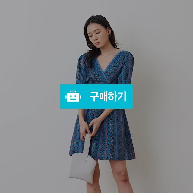 [구카] 블루 에스닉 원피스 / 포틴데이즈 / 디비디비 / 구매하기 / 특가할인