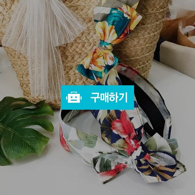 [달콤잡화점] 하와이 야자수 빅리본 헤어밴드 / 달콤잡화점 / 디비디비 / 구매하기 / 특가할인