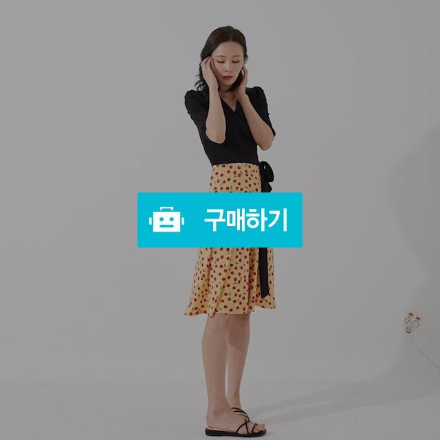 [BYSEOWOO] 체리야 콤보 미디 랩드레스 / 포틴데이즈 / 디비디비 / 구매하기 / 특가할인