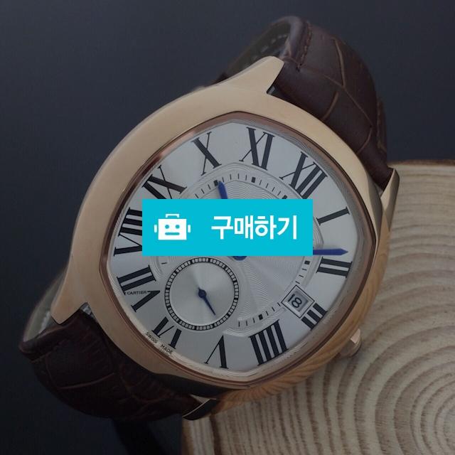 까르띠에 하정우 흰판 금장 가죽 -B2 / 럭소님의 스토어 / 디비디비 / 구매하기 / 특가할인
