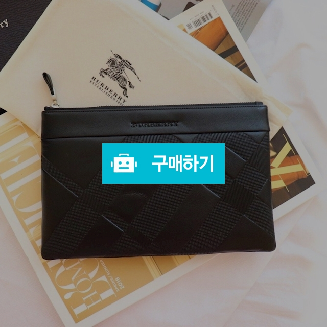버버리 양각 핸드 클러치  / 럭소님의 스토어 / 디비디비 / 구매하기 / 특가할인