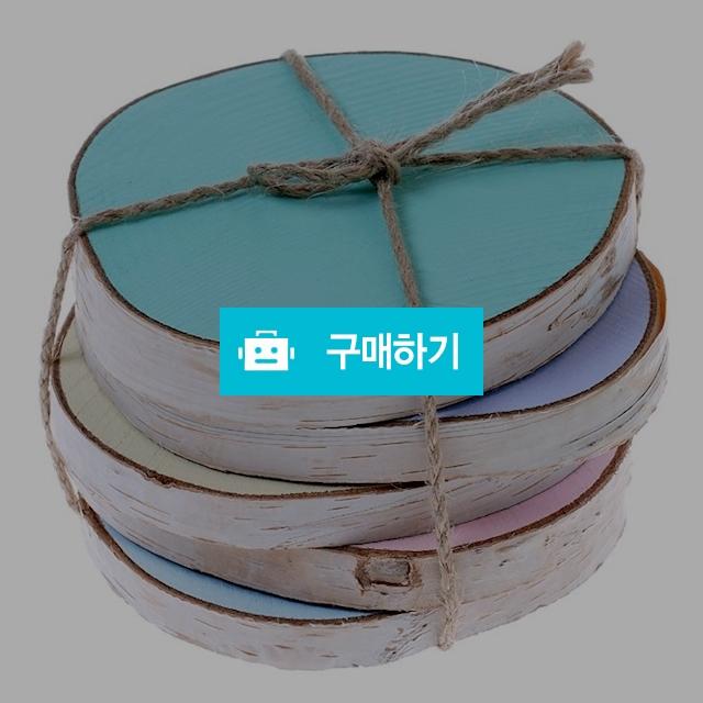 핸드메이드 자작나무 컵받침 5P 세트 / 더반하우스 / 디비디비 / 구매하기 / 특가할인