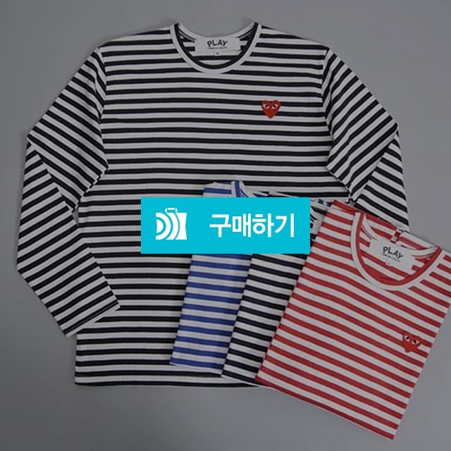 꼼데가르송 단가라 긴팔 티셔츠 남녀공용 커플 -풀라벨- / 로이한님의 스토어 / 디비디비 / 구매하기 / 특가할인