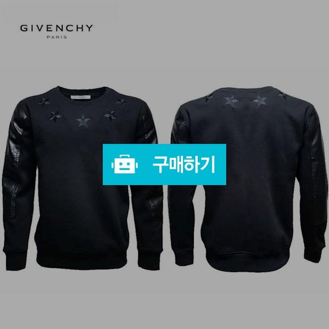 GIVENCHY 지방시 소매가죽 기모 맨투맨 / 럭소님의 스토어 / 디비디비 / 구매하기 / 특가할인