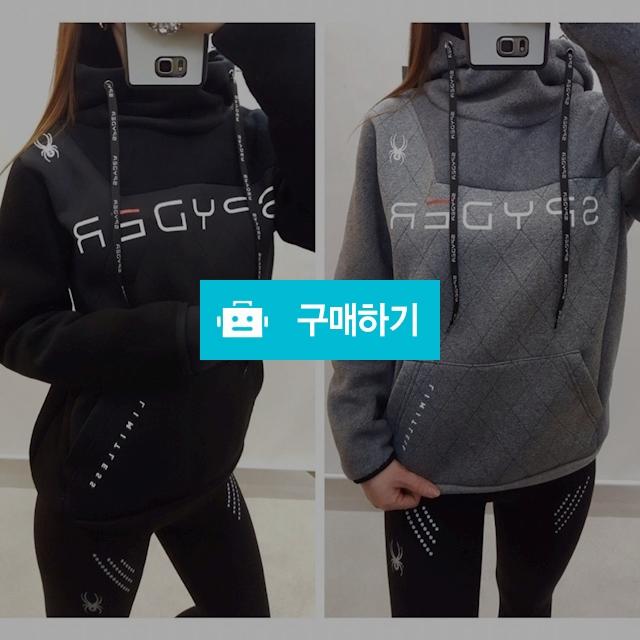 스파이더 후리스 퀼팅 후드티   / 럭소님의 스토어 / 디비디비 / 구매하기 / 특가할인