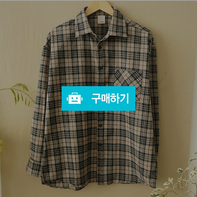 봄 캐쥬얼 데일리 크림뉴욕체크셔츠 / wook님의 스토어 / 디비디비 / 구매하기 / 특가할인