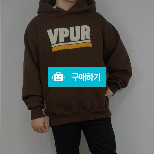 오버핏 기모 VPUR후드티셔츠 / wook님의 스토어 / 디비디비 / 구매하기 / 특가할인